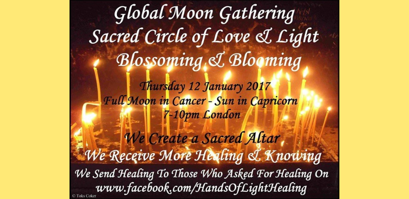 Full Moon in Cancer & Sun in Capricorn 12 January 2017