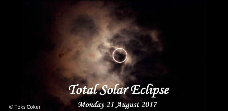 Live View of the Total Solar Eclipse