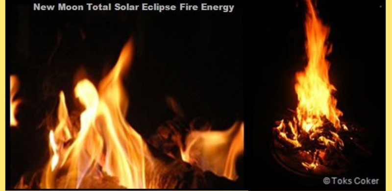 New Moon Total Solar Eclipse 21 August